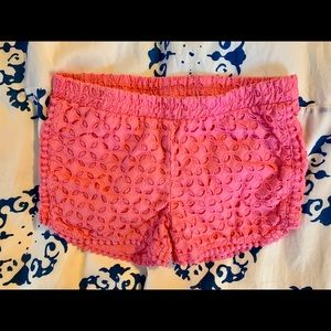 Lilly Pulitzer for Target Eyelet Shorts